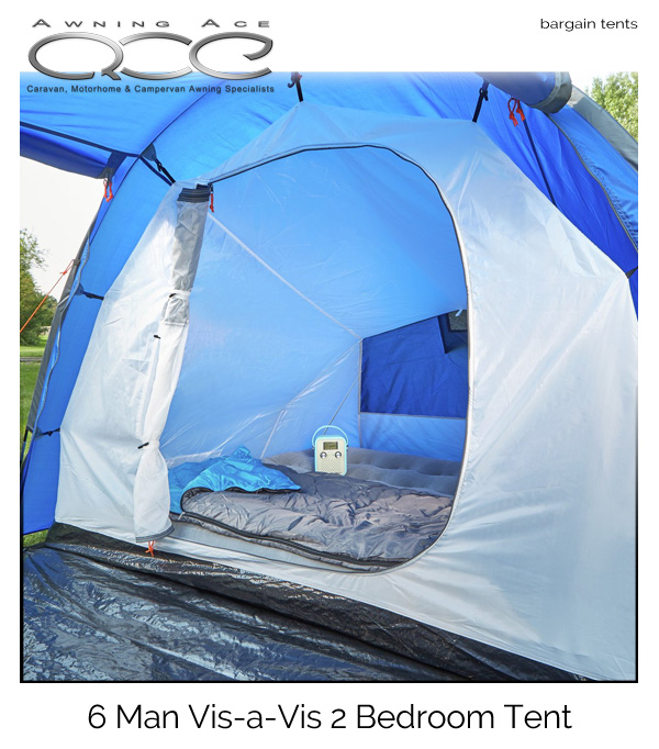 sc 1 st  Awning Ace & ProAction 6 Man 2 Room Family Festival Tent - awningace.com